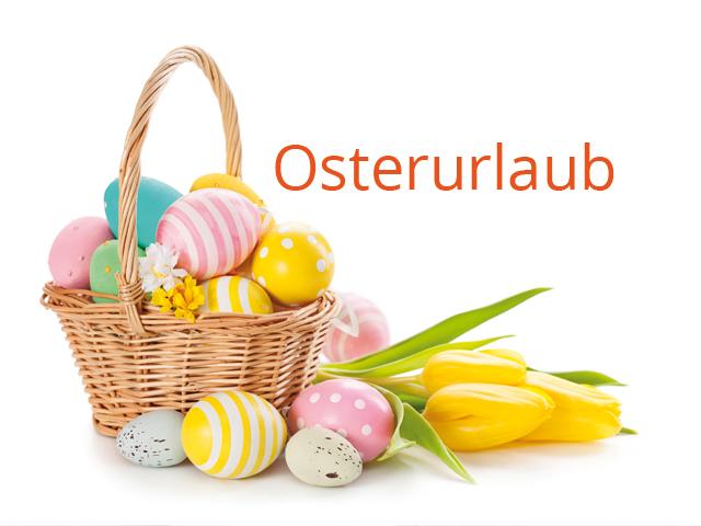 Osterurlaub | Praxis Dr. Schleicher & Brückl